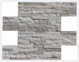 Pietra di marmo di legno bianca della coltura della natura della Cina per la decorazione della parete