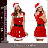 새로운 싼 성숙한 섹시한 산타클로스 크리스마스 복장 (TDD80760)