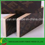 Una madera contrachapada fenólica más barata de la cara de la película del negro del pegamento de la venta caliente