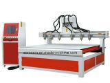 Multi macchina del router di CNC di asse degli assi di rotazione 4 con 3D rotativo per il legno dell'incisione, metallo molle,
