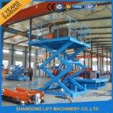 セリウムとの2t 7m Hydraulic Scissor Lifting Equipment Lifting Table