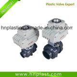 DIN에 의하여 플라스틱 벨브 CPVC 전기 플라스틱 공 벨브