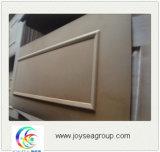 MDF y HDF Piel de la puerta de chapa de madera moldeada por la ceniza de madera de teca//Sapeli/Oak