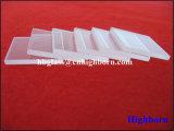 Dischi di vetro di quarzo del silicone di rettangolo della radura di resistenza di Corrosison