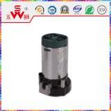 Black Movable Type avertisseur sonore électrique Moteur avec certificat ISO9001