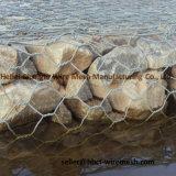 Galvanisiertes/Belüftung-überzogenes Aufbau Gabion Ineinander greifen (Steinkasten)