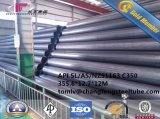 Tubi saldati ERW del acciaio al carbonio di ISO559 ST320 ST380 ST410/API 5L/ASTM A53 gr. B