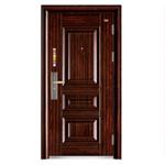 Porte en acier de chambre à coucher de lame d'Experter de garantie de porte (FD-G128)