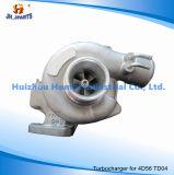 미츠비시 4D56 4D56t Td04 기름을%s 터보 충전기는 49177-01510를 냉각했다