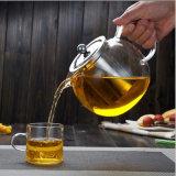 Teapot из высококачественного стекла с ручкой