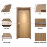 Diseño moderno MDF/HDF giro interior Puerta de madera compuesto de un CD-Va-002