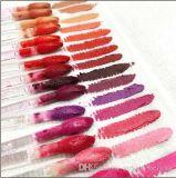 Menor preço /qualidade/novas chegadas Novo espelho líquido Fosco Retro Batom / Brilho Labial 5ml com nome 15 Color