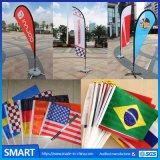 Smart Swooper battant pavillon de la plage de plumes pour publicité de plein air
