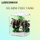Мини-Leecom рыб бак популярных стеклом аквариума бак Сделано в Китае