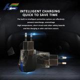 EUのプラグの表示燈を持つ移動式充満電話充電器