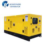 60Hz 65kw 81kVA Wassererkühlung-leises schalldichtes angeschalten durch FAW Motor-Dieselgenerator-Set-Diesel Genset
