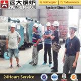 Gás natural de queima de óleo combustível pesado Diesel Aquecedor de óleo térmico