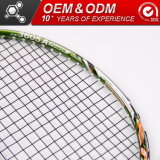Cabeza de aluminio de alta calidad de material deportivo raqueta bádminton fabrica