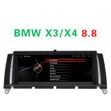 """Automobile 2+16g stereo di Carplay anabbagliante 8.8 """" per BMW X3 (2010.9--)/X4 (2014.4--) Internet WiFi delle automobili DVD Navigatior 3G"""