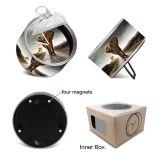 La promoción personalizada de venta al por mayor reloj Lata regalos de Navidad Año Nuevo