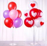 結婚式のセンターピース表の気球の立場の気球のコラムベース一定党装飾の気球のアクセサリ