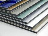 Neitabond Painel Composto de alumínio com PE PVDF escovado do espelho de madeira