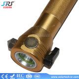 最もよく高い内腔の防水再充電可能な太陽エネルギーLEDのトーチの懐中電燈