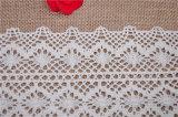 ClothingおよびTextileのための100%年の綿Crochet Lace
