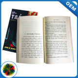 Baixa quantidade mínima de Encadernação perfeita cobertura macia de alta qualidade de impressão de livros