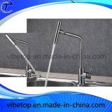 台所手のシャワーのための単一のコック水セービング