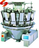 Macchina per l'imballaggio delle merci rotativa automatica di Doypack del granello & del solido con il pesatore della Multi-Testa