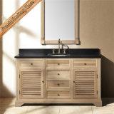 Тип тщета двери штарки двойной раковины древесины дуба Fed-1591 ванной комнаты