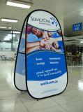 La publicité diffuse une bannière cadre pour la promotion