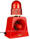 防水角のストロボ標識の音響器ライト聞こえ、視覚アラーム