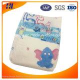 OEMの高い吸収の使い捨て可能な優れた通気性の赤ん坊のおむつ