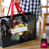 Grands sacs de papier de luxe de cadeau pour l'emballage de vêtement
