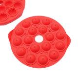 Nuevo producto certificado FDA Material de grado alimentario molde de silicona de molde/Chocolate Pudding/molde/Lollipop molde/bandeja de cubitos de hielo