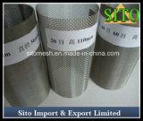 Alambre de acero inoxidable de malla del filtro cilíndrico de filtro / cartucho / Tamiz