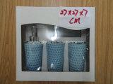Un insieme di ceramica Colore-Lustrato di un accessorio delle 4 stanze da bagno