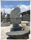 Scultura di pietra di scultura di pietra della scultura naturale del granito a mano nella decorazione del giardino