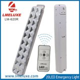 Indicatore luminoso Emergency ricaricabile del LED con telecomando