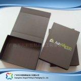 호화스러운 엄밀한 서류상 포장 선물 음식 보석 장식용 상자 (XC-hbg-027)
