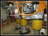 Compressor Vibratory Gyt-77r do solo da gasolina do pisco de peito vermelho Eh12 com a válvula Integrated do combustível para a venda