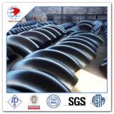 ASME B16.9 6 Zoll Sch40 A234 Wpb 90deg LR stoßen