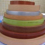 Grano bianco e di legno della fascia di bordo del PVC per le schede