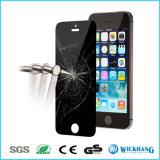 Протектор экрана Tempered стекла Анти--Шпионки уединения для iPhone 5s Apple