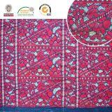 2018 encaje de algodón tejido de malla de nylon bordados, encajes, bordados, encajes Jacard Lycra