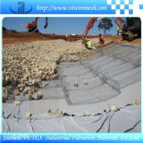 Rete di Gabion usata come rete metallica della costruzione