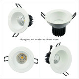 Diámetro antideslumbrante 105mm Empotrado 220V COB LED Downlight 9W