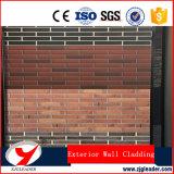 El panel de cemento panel de pared exterior revestimiento de la pared decorativos de fibra